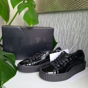 Fenty Crinkle Leather Creepers